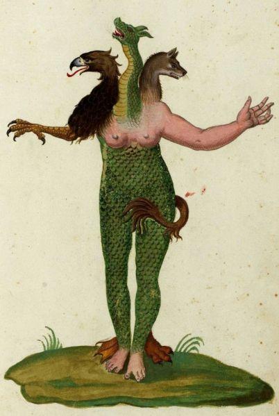 Monstrorum Historia Ulissa Androvandi 1642